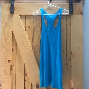 Teal Express Racerback Dress/Coverup